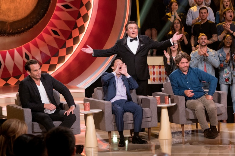 THE GONG SHOW - Episode 102. (ABC/Greg Gayne)WILL ARNETT, KEN JEONG, TOMMY MAITLAND, ZACH GALIFIANAKIS