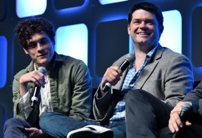 Phil Lord, Chris MillerStar Wars Celebration Europe 2016, London, UK - 17 Jul 2016Star Wars Celebration Europe 2016, the official Lucasfilm event celebrating all things Star Wars, produced by fans for fans, at Excell, London.