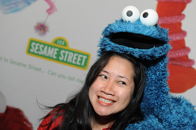 Hanh Nguyen, Cookie Monster, PBS, TCA