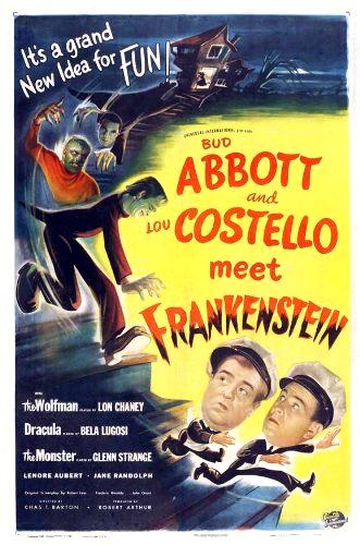 """""""Abbott and Costello Meet Frankenstein"""" (1948)"""