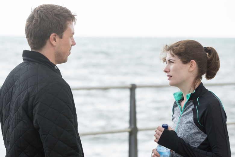 "Andrew Buchan and Jodie Whittaker, ""Broadchurch"""