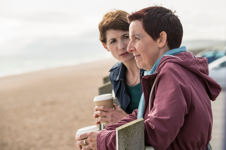 "Jodie Whittaker and Julie Hesmondhalgh, ""Broadchurch"""