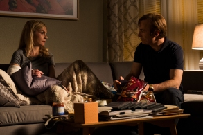 Rhea Seehorn as Kim Wexler, Bob Odenkirk as Jimmy McGill- Better Call Saul _ Season 3, Episode 10 - Photo Credit: Michele K. Short/AMC/Sony Pictures Television