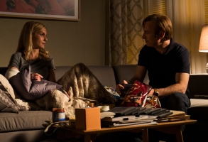 Rhea Seehorn as Kim Wexler, Bob Odenkirk as Jimmy McGill - Better Call Saul _ Season 3, Episode 10 - Photo Credit: Michele K. Short/AMC/Sony Pictures Television