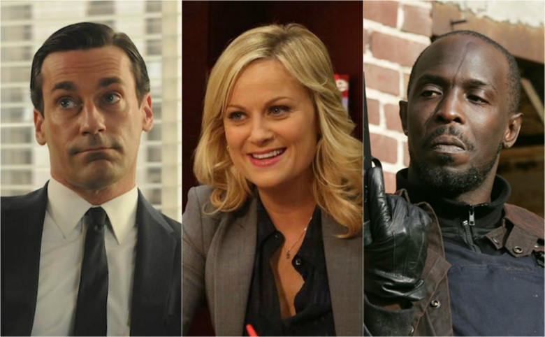 Best TV Characters Don Draper Leslie Knope Omar Little
