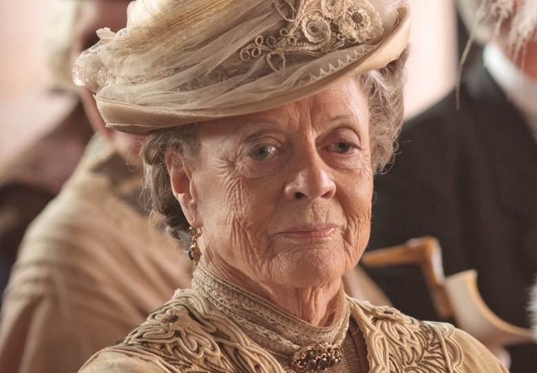 Image result for images downton abbey cast maggie smith