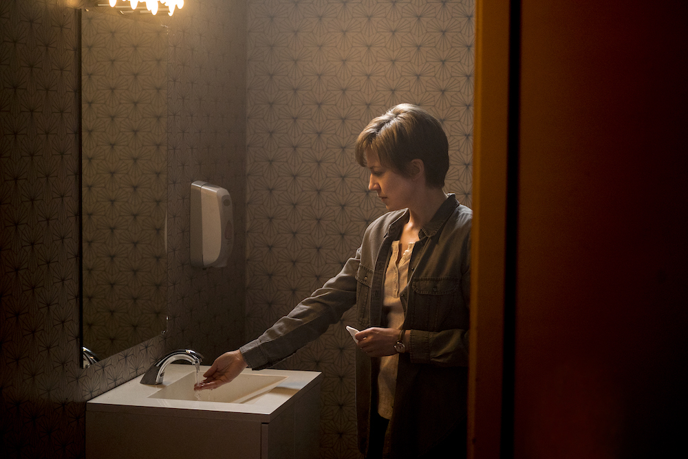 "FARGO -- ""Aporia"" – Year 3, Episode 9 (Airs June 14, 10:00 pm e/p) Pictured: Carrie Coon as Gloria Burgle. CR: Chris Large/FX"
