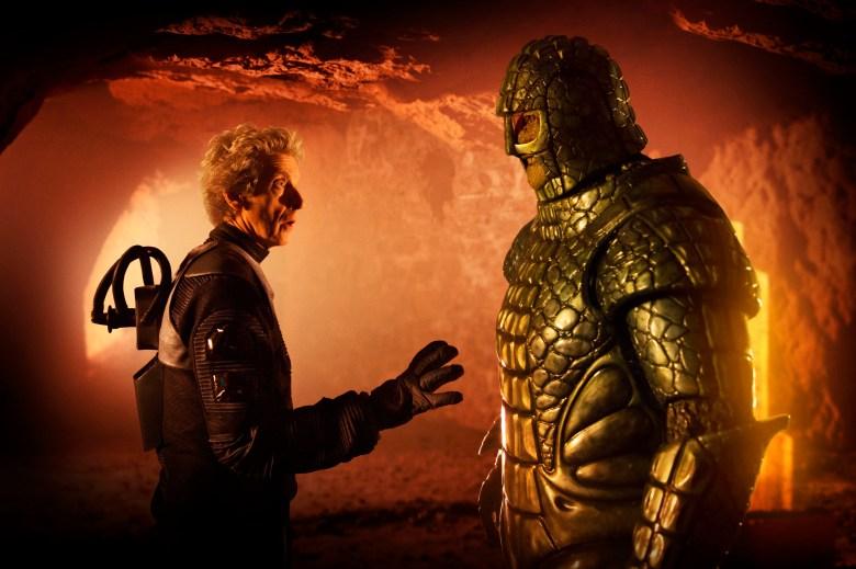 "Peter Capaldi and Richard Ashton, ""Doctor Who"""