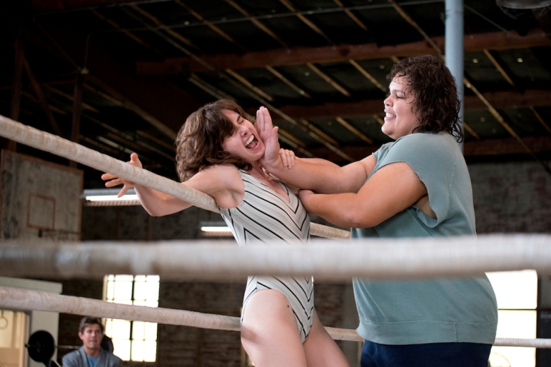 "Alison Brie and Britney Young, ""GLOW"""