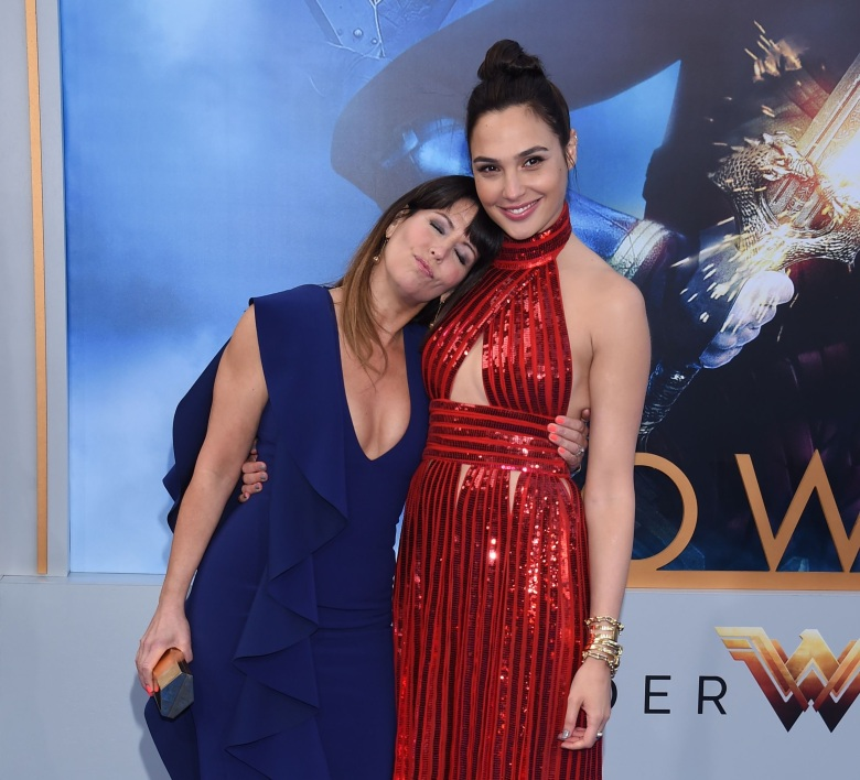 gal gadot patty jenkins wonder woman