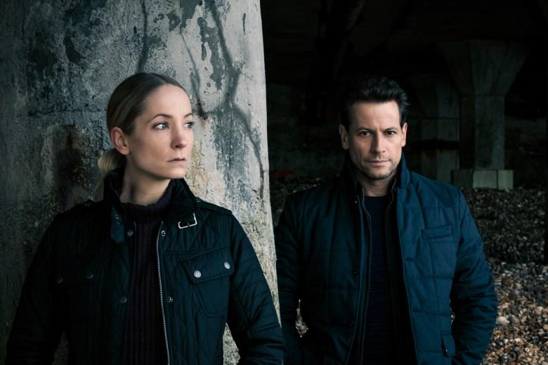 Joanne Froggatt as Laura Nielson, Ioan Gruffudd as Andrew Earlham- Liar _ Season 1 - Photo Credit: Joss Barratt/Two Brothers Pictures/ITV/SundanceTV