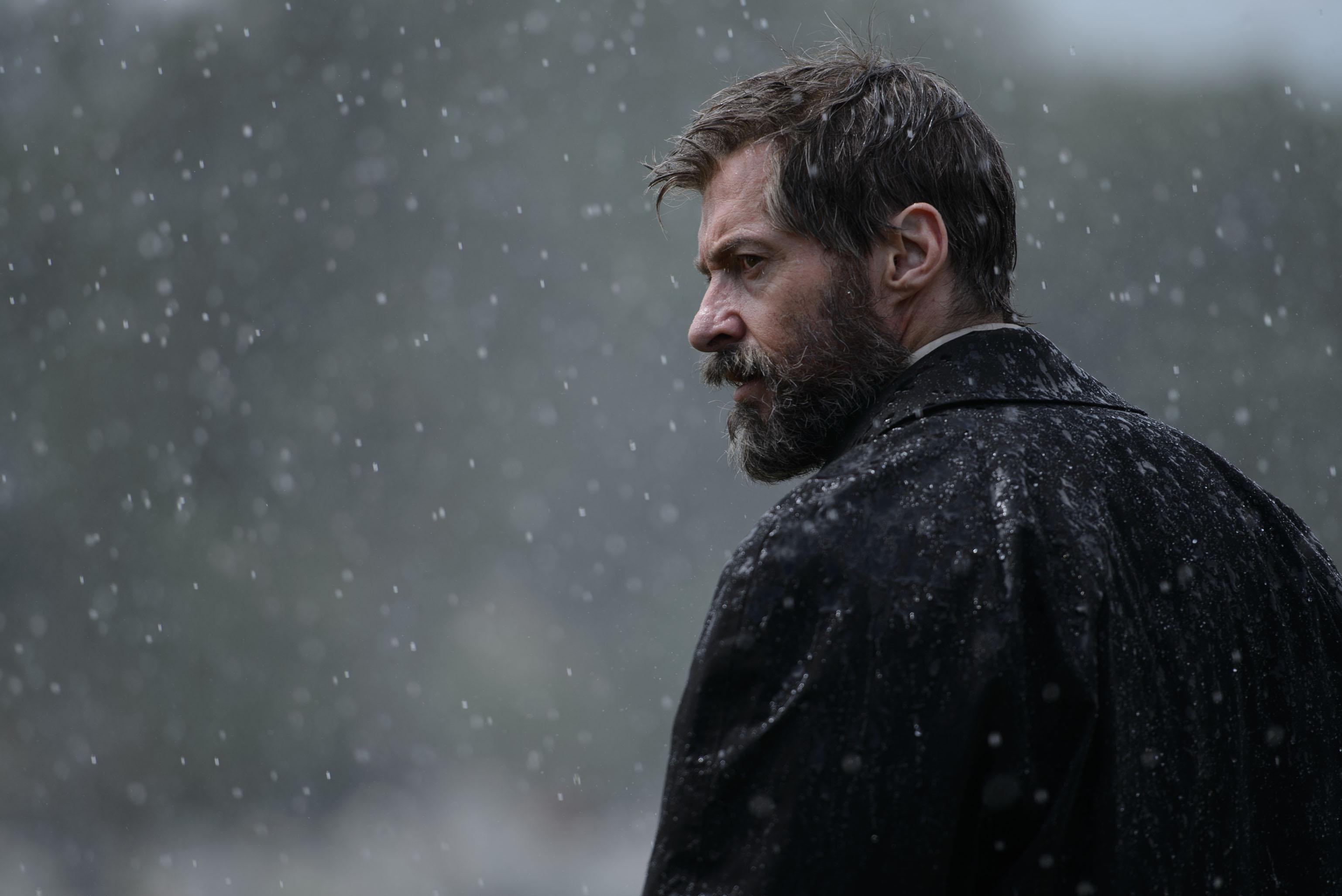 Hugh Jackman stars as Logan