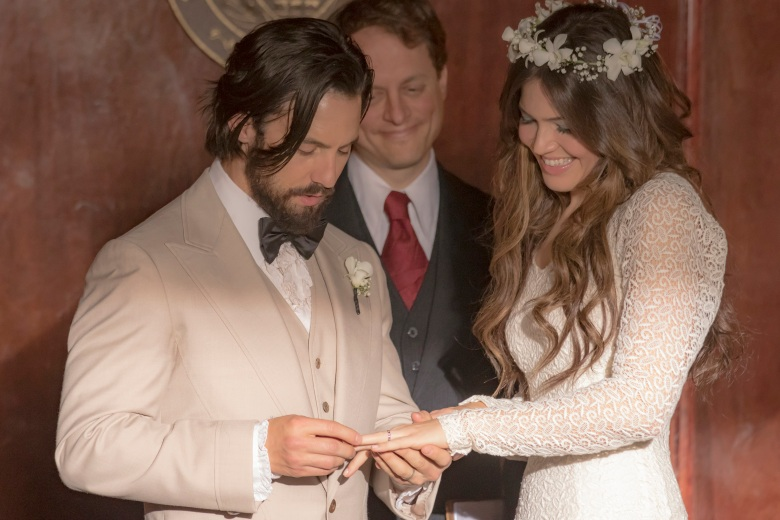 """Milo Ventimiglia and Mandy Moore, """"This Is Us"""""""