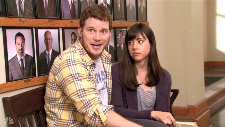 "Chris Pratt and Aubrey Plaza, ""Parks and Recreation"""