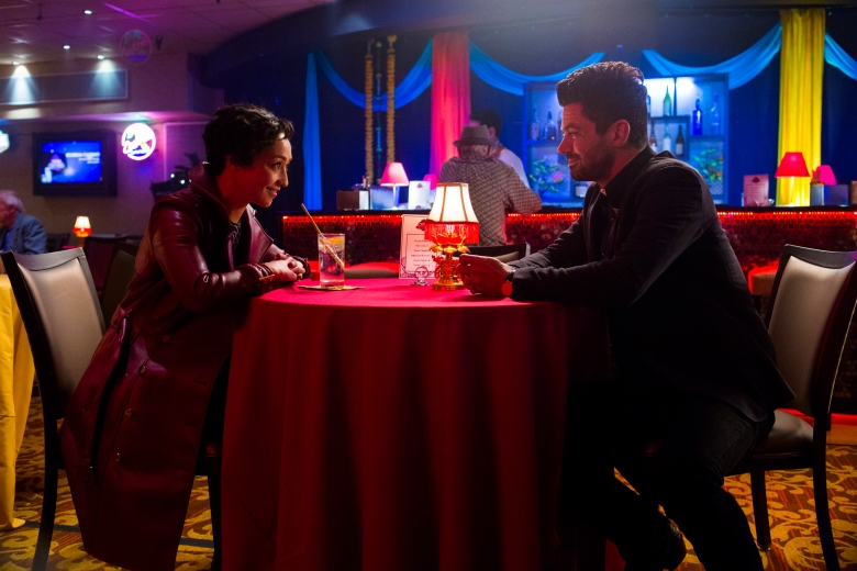 Ruth Negga as Tulip O'Hare, Dominic Cooper as Jesse Custer - Preacher _ Season 2, Episode 2 - Photo Credit: Skip Bolen/AMC/Sony Pictures Television