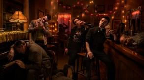 Joseph Gilgun as Cassidy, Ruth Negga as Tulip O'Hare, Dominic Cooper as Jesse Custer- Preacher _ Season 2, Gallery - Photo Credit: Marco Grob/AMC