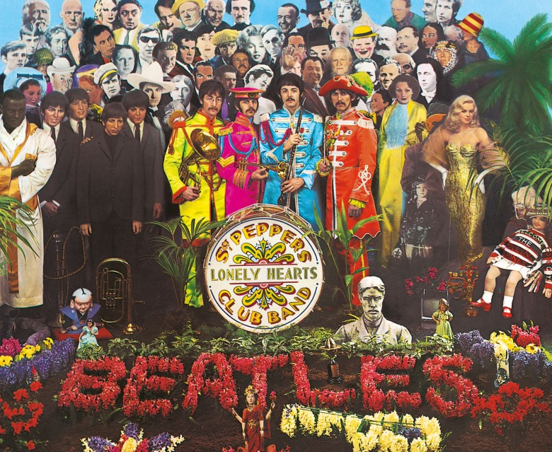 """Sgt. Pepper's Lonely Hearts Club Band"" cover"