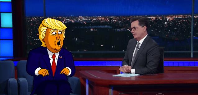 Colbert Trump