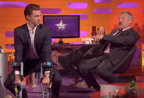 Tom Holland on The Graham Norton Show