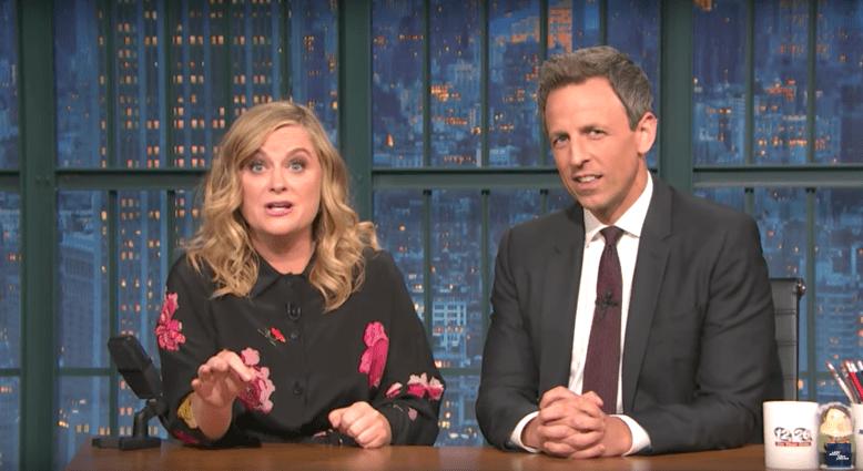 "Amy Poehler and Seth Meyers, ""Late Night With Seth Meyers"""