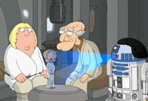 """2007 """"Family Guy"""" Star Wars spoof """"Blue Harvest"""""""