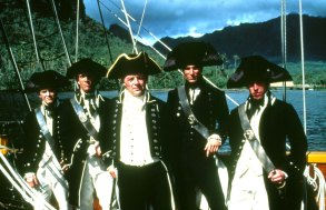 No Merchandising. Editorial Use Only. No Book Cover Usage.Mandatory Credit: Photo by Moviestore/REX/Shutterstock (1631483a)The Bounty, Mel Gibson, Sir Anthony Hopkins, Daniel Day-Lewis, Phillip DavisFilm and Television