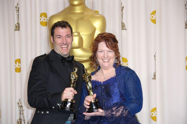 Mark Andrews and Brenda Chapman85th Annual Academy Awards Oscars, Press Room, Los Angeles, America - 24 Feb 2013