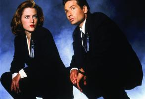 No Merchandising. Editorial Use Only. No Book Cover UsageMandatory Credit: Photo by Snap Stills/REX/Shutterstock (2207455c)Gillian Anderson, David DuchovnyThe X Files - 1998