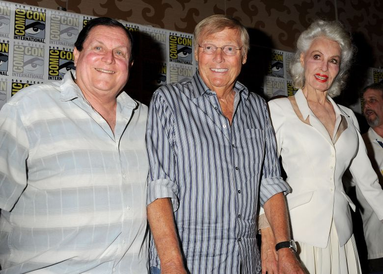 Burt Ward, Adam West and Julie Newmar'Batman '66' at Comic-Con, San Diego, America - 24 Jul 2014