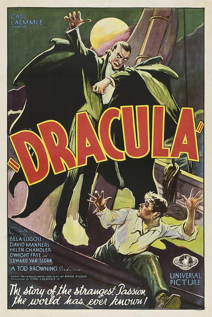 'Dracula' starring Bela Lugosi, a 1931 vampire-horror film.VARIOUS