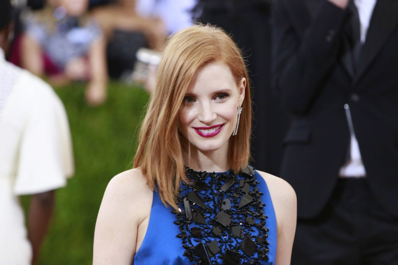 Jessica Chastain Responds To Criticism Of All White Photo