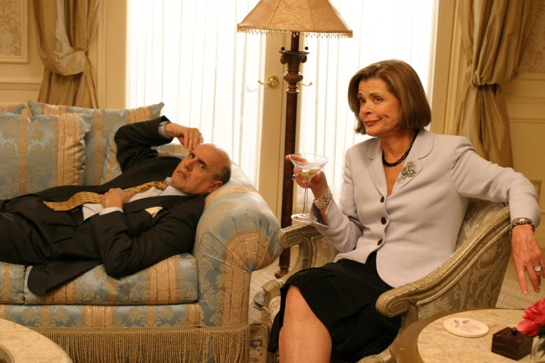 "Jeffrey Tambor and Jessica Walter, ""Arrested Development"""
