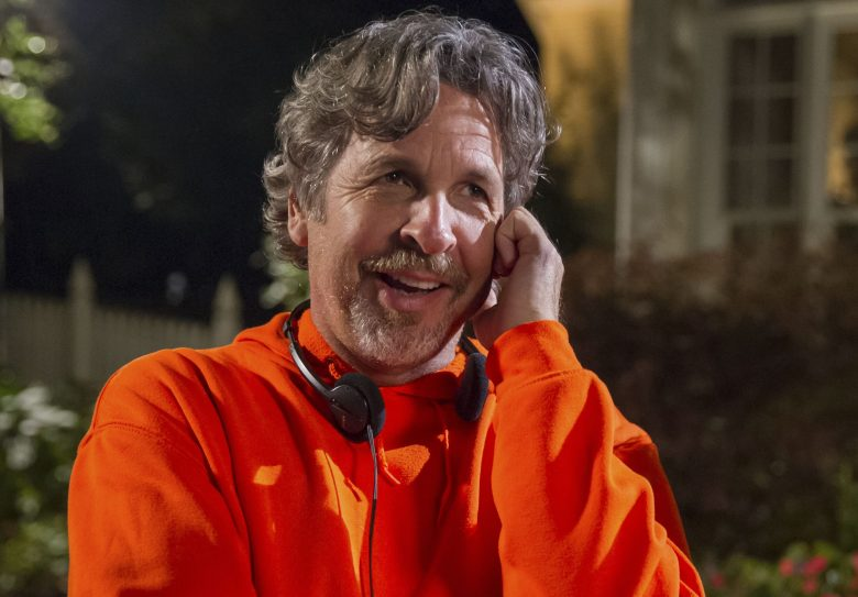 No Merchandising. Editorial Use Only. No Book Cover Usage.Mandatory Credit: Photo by Hopper Stone/Universal/Kobal/REX/Shutterstock (5885080ae)Peter Farrelly, Bobby FarrellyDumb and Dumber To - 2014Director: The Farrelly BrothersUniversalUSAOn/Off SetComedyDumb & Dumber Two / TooDumb & Dumber De