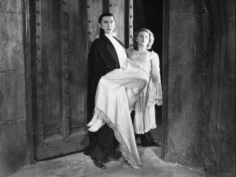 No Merchandising. Editorial Use Only. No Book Cover Usage.Mandatory Credit: Photo by Universal/Kobal/REX/Shutterstock (5885825ba) Bela Lugosi, Helen Chandler Dracula - 1931 Director: Tod Browning Universal Pictures USA Scene Still Horror