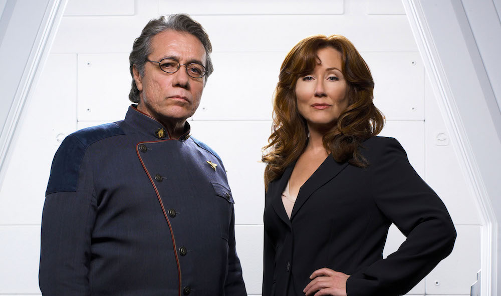 'Battlestar Galactica' Reunion: Edward James Olmos Says Series was Better Crafted than 'Blade Runner' and 7 More Highlights