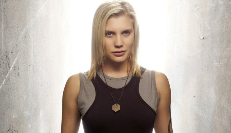 "Katee Sackhoff, ""Battlestar Galactica"""
