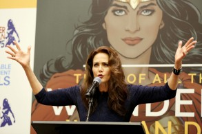Lynda CarterWonder Woman named UN Ambassador for Empowerment of Women and Girls, New York, USA - 21 Oct 2016Event held in the United Nations Headquarters' ECOSOC Chamber commemorating the 75th anniversary of 'Wonder Woman' and to celebrate the designation of the character as 'Honorary Ambassador for the Empowerment of Women and Girls'.