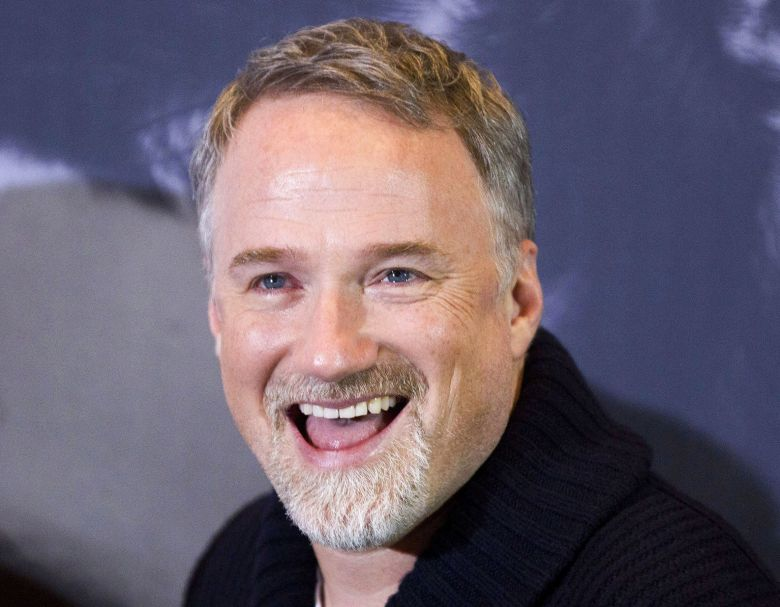 director david fincher smiles during a photo call for the movie