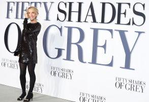 "Sam Taylor-Johnson at the UK premiere of ""Fifty Shades of Grey"""