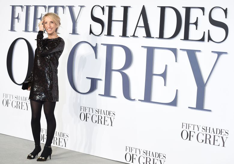 "Sam Taylor-Johnson at the UK premiere of ""Fifty Shades of Grey"""