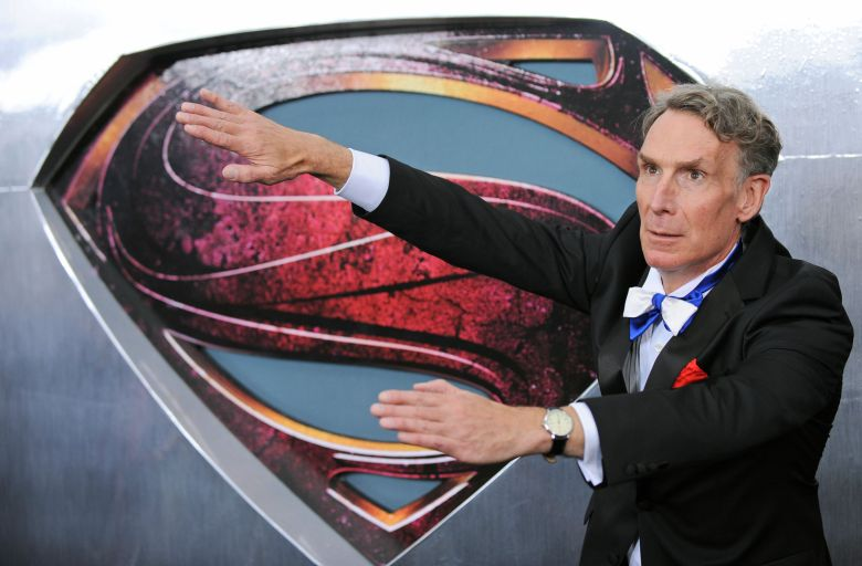 Us Actor and Comedian Bill Nye Attends the 'Man of Steel' World Premiere at Alice Tully Hall at the Lincoln Center in New York Usa 10 June 2013 United States New YorkUsa Man of Steel Premiere - Jun 2013