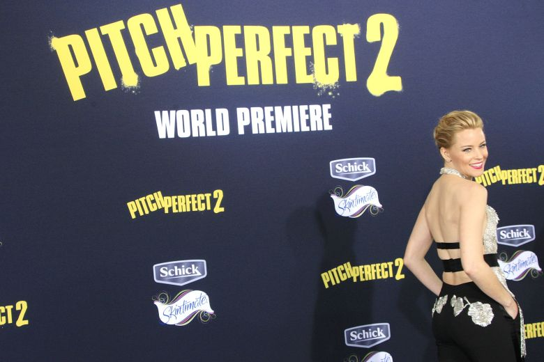 Us Actress Producer and Director Elizabeth Banks Arrives For the World Premiere of Universal Pictures' 'Pitch Perfect 2' at Nokia Theatre L a Live in Los Angeles California Usa 08 May 2015 the Movie Opens in the Us on 15 May 2015 United States Los AngelesUsa Film Premiere - May 2015