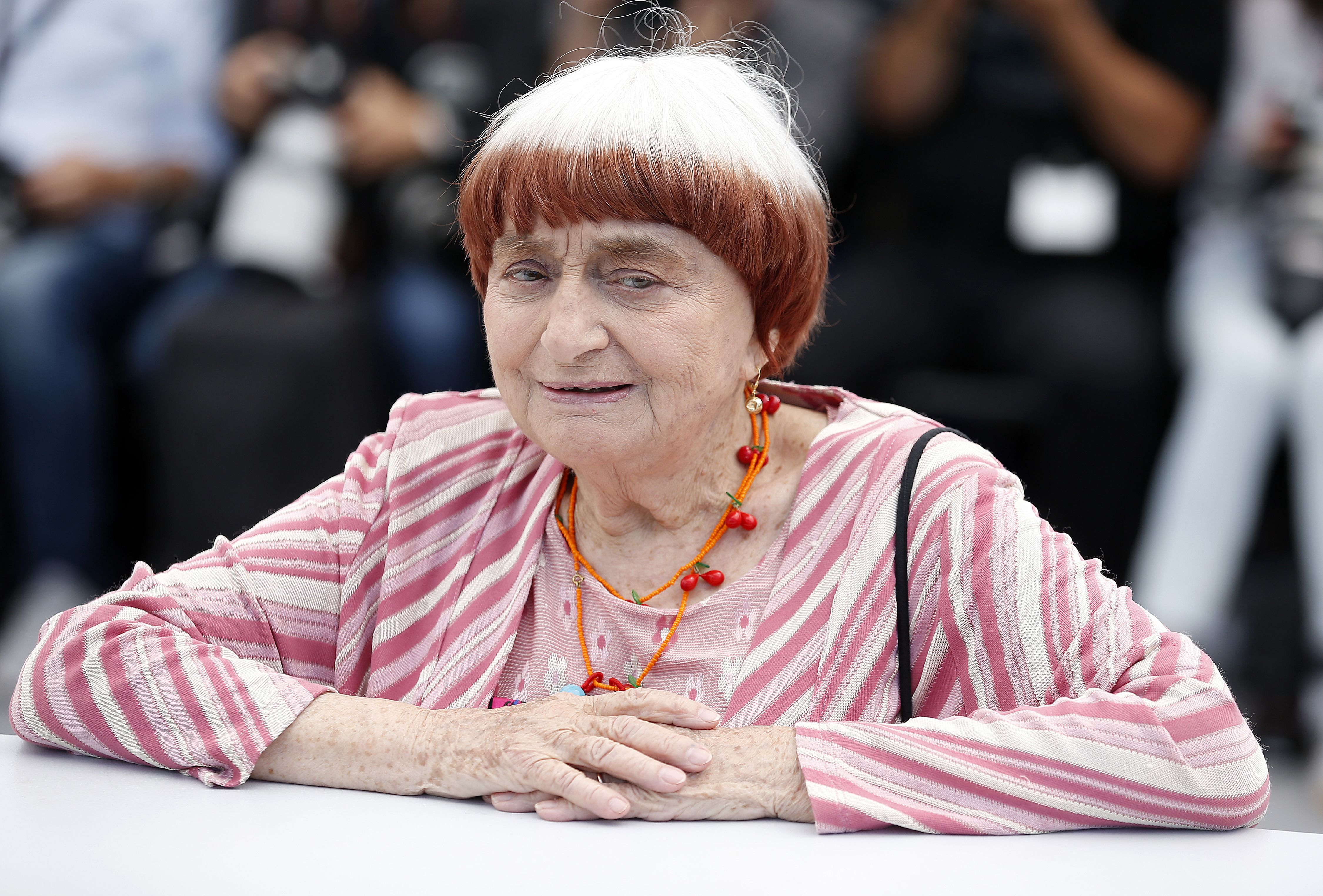 Agnes VardaVisages, Villages Photocall - 70th Cannes Film Festival, France - 19 May 2017 French director Agnes Varda poses during the photocall for 'Visages, Villages' (Faces Places)' at the 70th annual Cannes Film Festival, in Cannes, France, 19 May 2017. The movie is presented in the section Special Screenings of the festival which runs from 17 to 28 May.