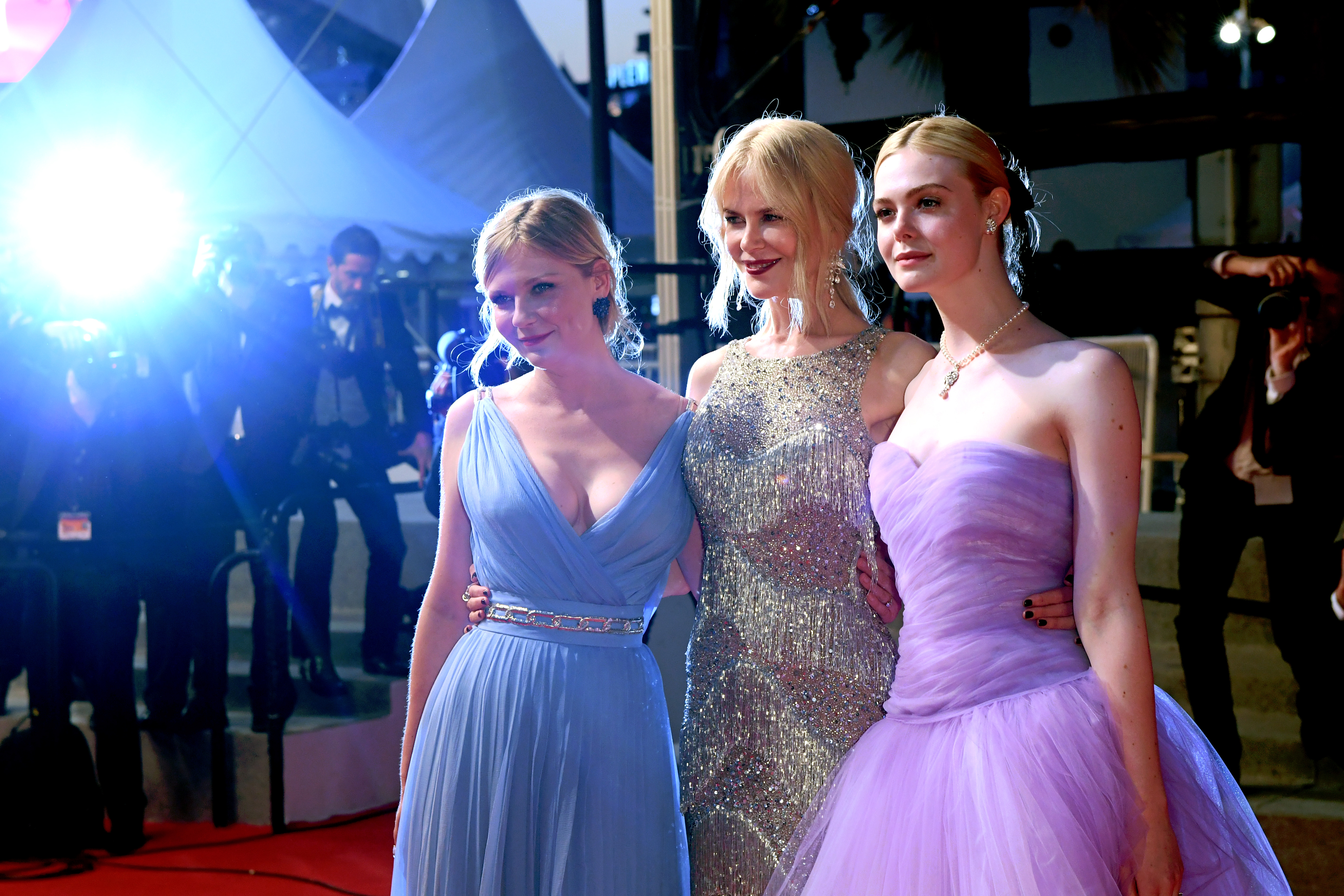 Kirsten Dunst, Nicole Kidman and Elle Fanning'The Beguiled' premiere, 70th Cannes Film Festival, France - 24 May 2017