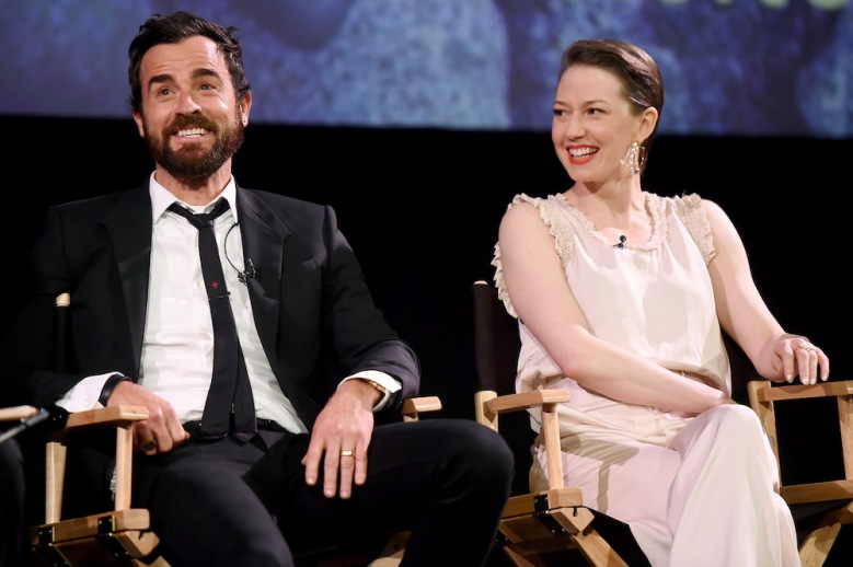Justin Theroux and Carrie Coon'The Leftovers' TV show FYC Series Finale Screening, Panel, Los Angeles, USA - 04 June 2017