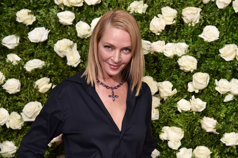 Uma Thurman71st Annual Tony Awards, Arrivals, New York, USA - 11 Jun 2017