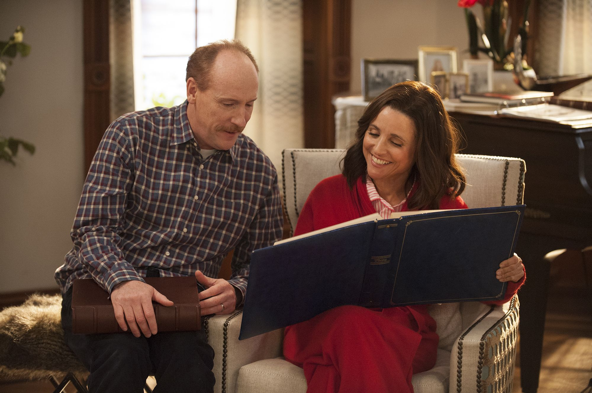 "No Merchandising. Editorial Use Only. No Book Cover UsageMandatory Credit: Photo by Kobal/REX/Shutterstock (HBO)/Kobal/REX (8877349o)Matt Walsh, Julia Louis-Dreyfus""Veep"" Season 6 TV series - 2017"