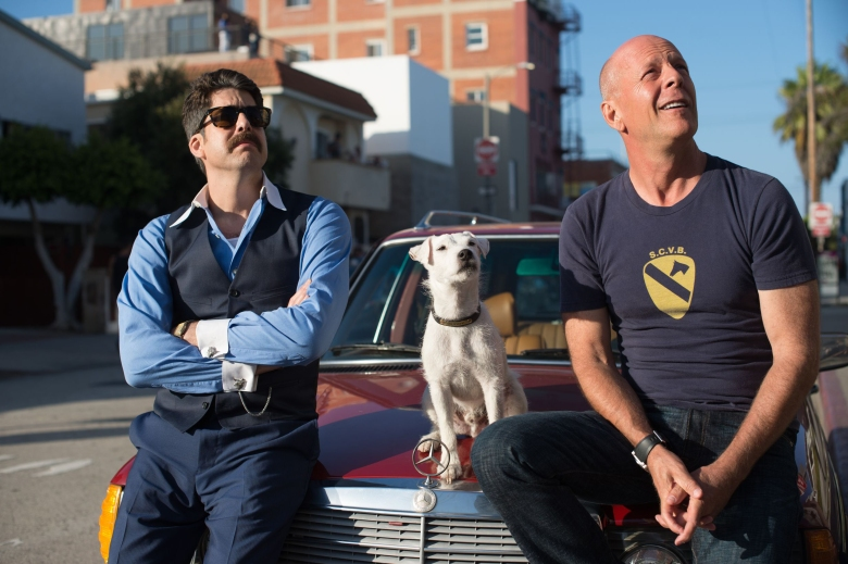 jomovie14 -caption: Stills from the movie Once Upon A Time In Venice starring Bruce Willis, Famke Janssen, Adam Goldberg (mustache)##########x##########Shaw Organisation