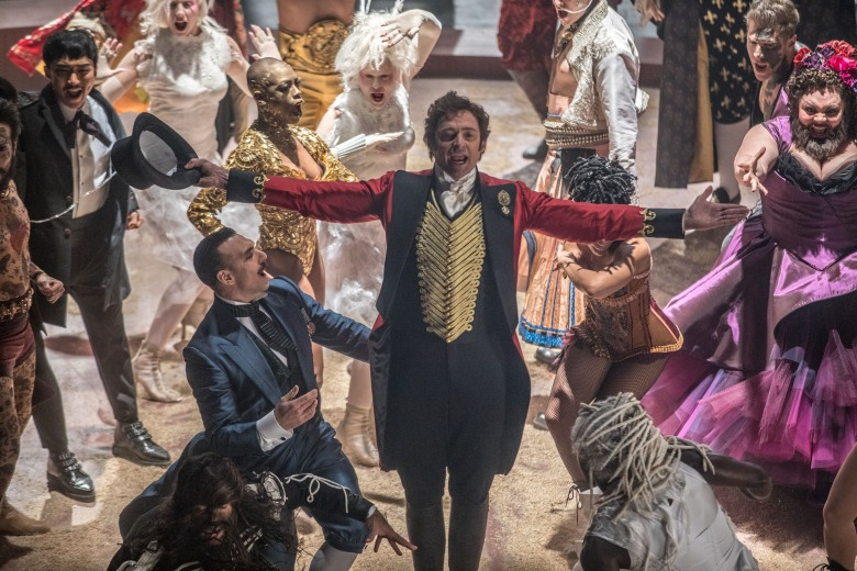 DF-07720 – P.T. Barnum (Hugh Jackman) comes alive with the oddities in Twentieth Century Fox's THE GREATEST SHOWMAN.