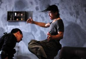 THE RAID, (aka SERBUAN MAUT), from left: Joe Taslim, Yayan Ruhian, 2011. ph: Akhirwan Nurhaidir/©Sony Pictures Classics